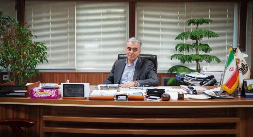 اردشیر سعدمحمدی مدیر عامل شرکت ملی مس