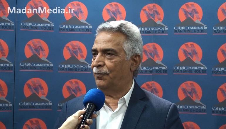 محمدرضا بهرامن رئیس خانه معدن ایران