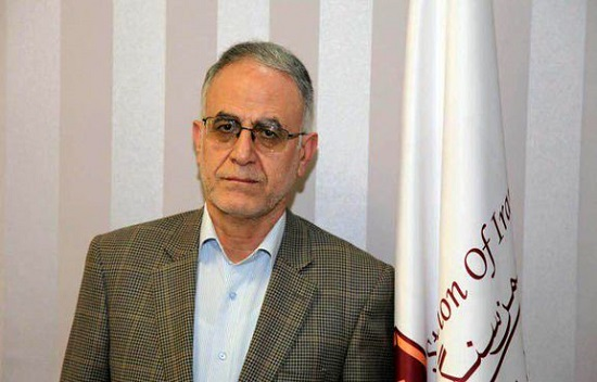 احمد شریفی دبیر انجمن سنگ