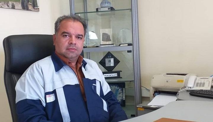 مجید وفایی فر رییس مرکز تحقیقات فرآوری مواد معدنی ایران