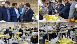 خط تولید ماسک تنفسی به سفارش شرکت فولاد خوزستان
