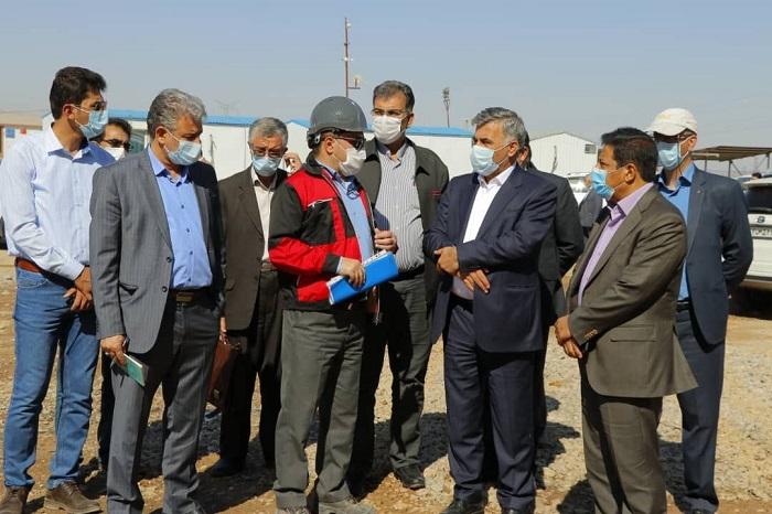 داریوش اسماعیلی در بازدید از معادن اسمیران سیرجان