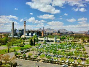 فعالیت زیست محیطی ذوب آهن اصفهان