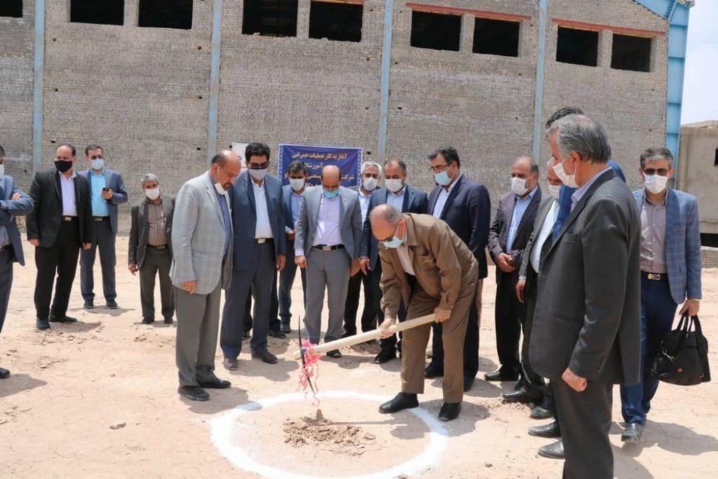 آغاز عملیات ساخت دومین مرکز آموزشی شرکت معدنی و صنعتی چادرملو در اردکان