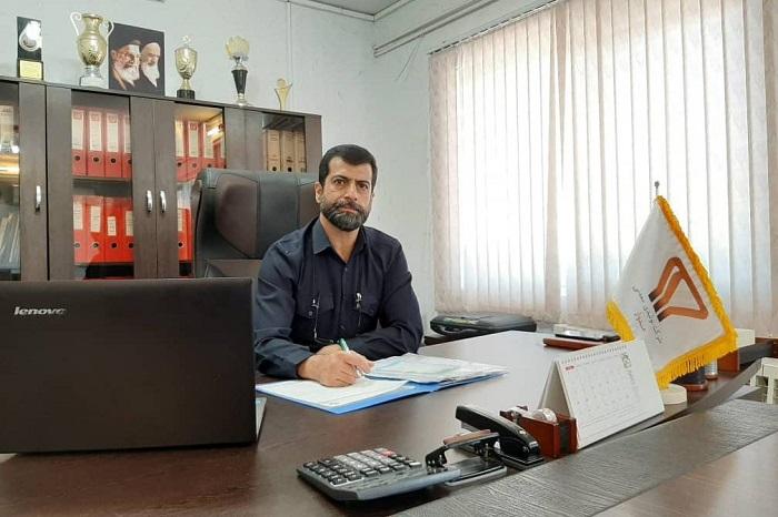 «افشین ابراهیمینژاد»، مدیرعامل شرکت تولیدی معدنی مدوار