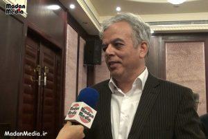 تقی نبئی، رئیس شورای مرکزی و رئیس نظام مهندسی معدن