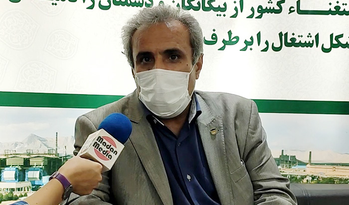 محمدجعفر صالحی معاون خرید ذوب آهن